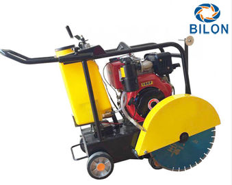 China 13HP Hand Push Gasoline Asphalt Road Cutter Machine With 0 - 180mm Cutting Depth distributor