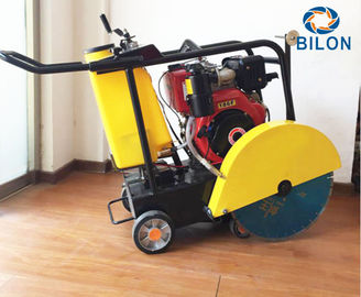 China Compact Road Cutting Machine 15-25HP Gasoline / Diesel Mobile Concrete Saw Cutting distributor