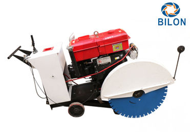 China 70cm Concrete Cutting Machine With Engine Diesel 15hp Water Cold distributor