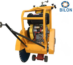 China 25HP Diesel Hydraulic Start Concrete Road Cutter Saw Running Speed 20m-40m/h distributor