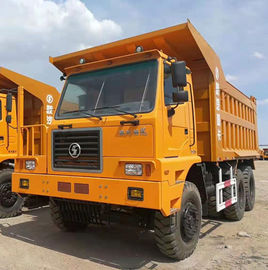 China Shacman 70T Left Hand Driving Crawler Dump Truck 6x4  Euro 3 For Mining distributor