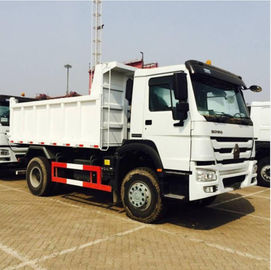 China 290HP Sinotruk Howo 4x2 10 Ton Small Tipper Truck With Powerful Steering Gear Box distributor