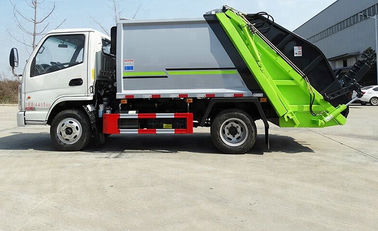 Garbage Compactor Truck