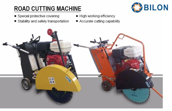 400mm Blade Road Cutting Equipment With Honda Gasoline Engine