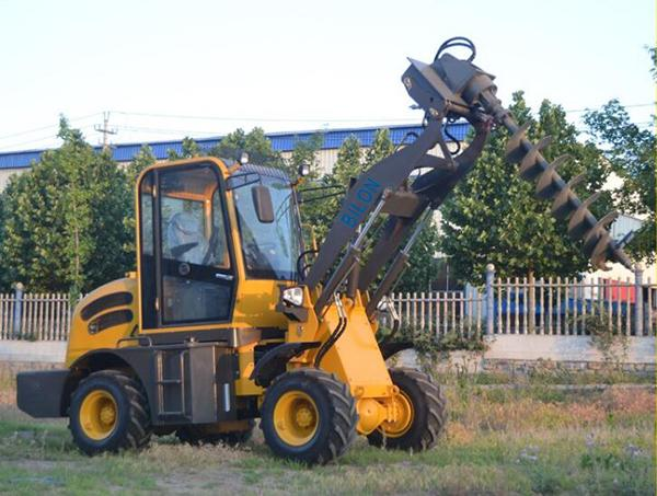 High Performance Telescopic Wheel Loader 1000kg Rated Load With Easy Operation