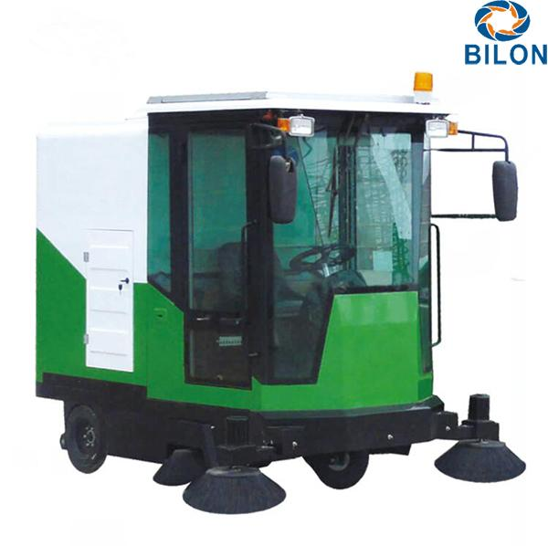 1880A Electric Outdoor Snow Sweeper Machines Battery Power Snow Sweeper