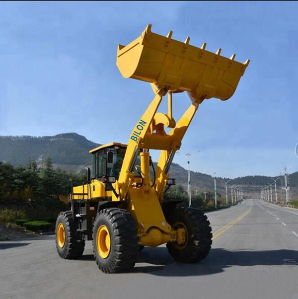 High Efficiency Wheel Loader Machine ZL956 Compact Wheel Loader With 3.0m 3 Bucket