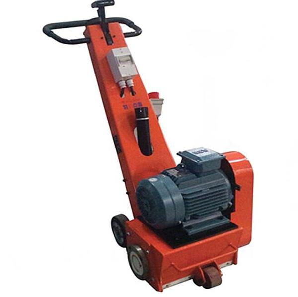 Electric Concrete Floor Scarifying Machine High Power Clean Milling Machine