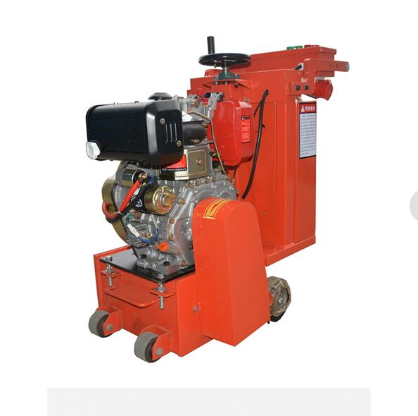 7.5KW Hand Pushed Concrete Scarifier Machine With Electric Motor Driven