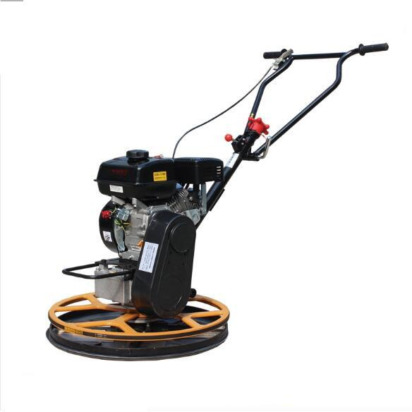 Stable Running 600mm Walk Behind Power Trowel Cement Power Trowel For Construction