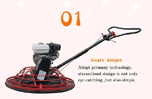Gasoline Walk Behind Electric Trowel Machine 1000mm Multiquip Trowel Machine