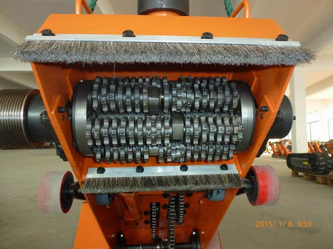 "280mm/11"" Self - Propelled Scarifier Concrete Grinder Floor / Surface Preparation"