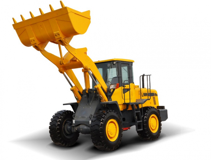 Rated Bucket Capacity 1.7m3 936 3 Ton Wheel Loader Machine / Road Construction Trucks