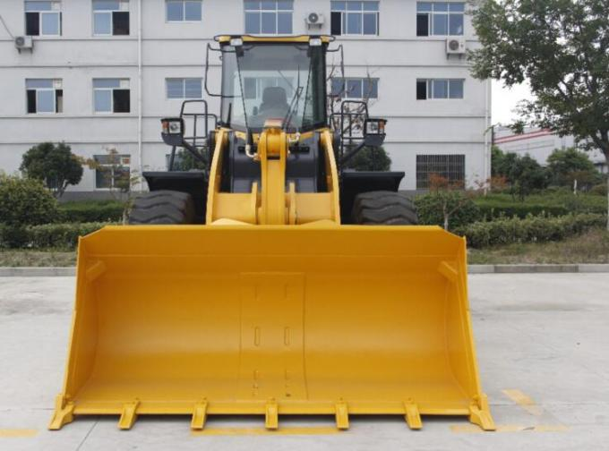 129kW 4 Ton Wheel Loader Luxury Cabin Decoration And A/C Provide Operator Comfort