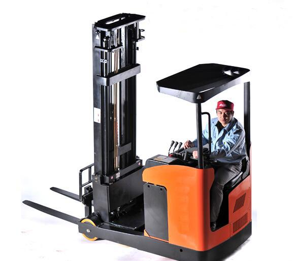 Powerful Battery Road Construction Machinery Electric Reach Pallet Truck