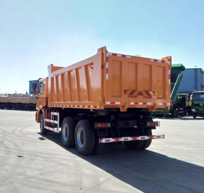 Engine Capacity 8L 20 Cubic Meter Crawler Dump Truck Shacman F2000 For Africa